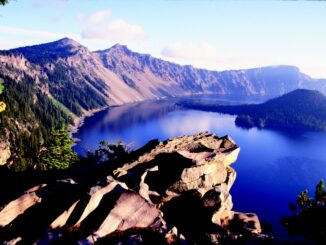 Crater Lake, Oregon - Photo by Eric Valentine, courtesy of PCTA