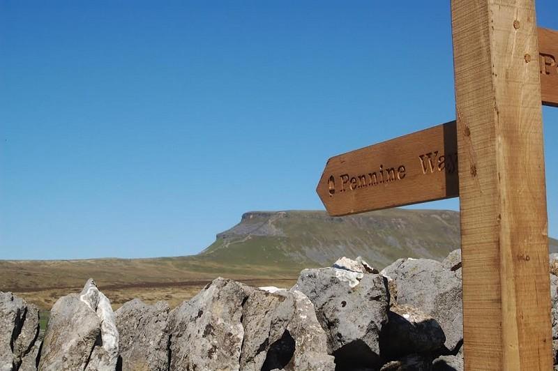 Pennine Way signposting