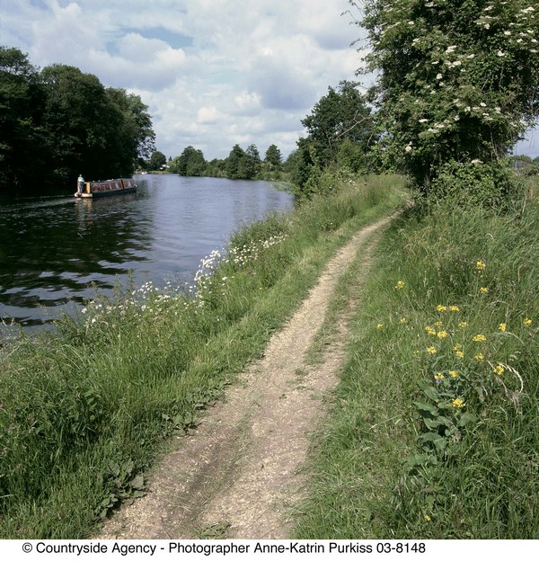 ThamesPath - Foto© Countryside Agency, Photographer Anne-Katrin Purkiss
