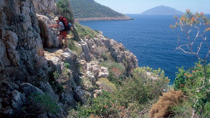 Kas cliff - Via Licia