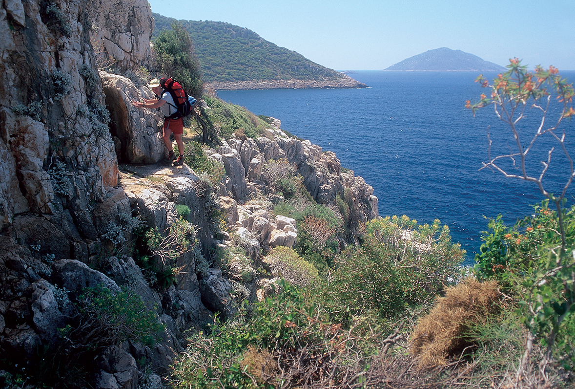Kas cliff - Via Licia