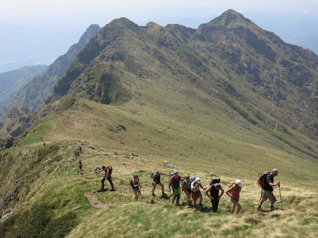 Trekking Gruppo Escursionisti - Foto© GAL Montagne Biellesi
