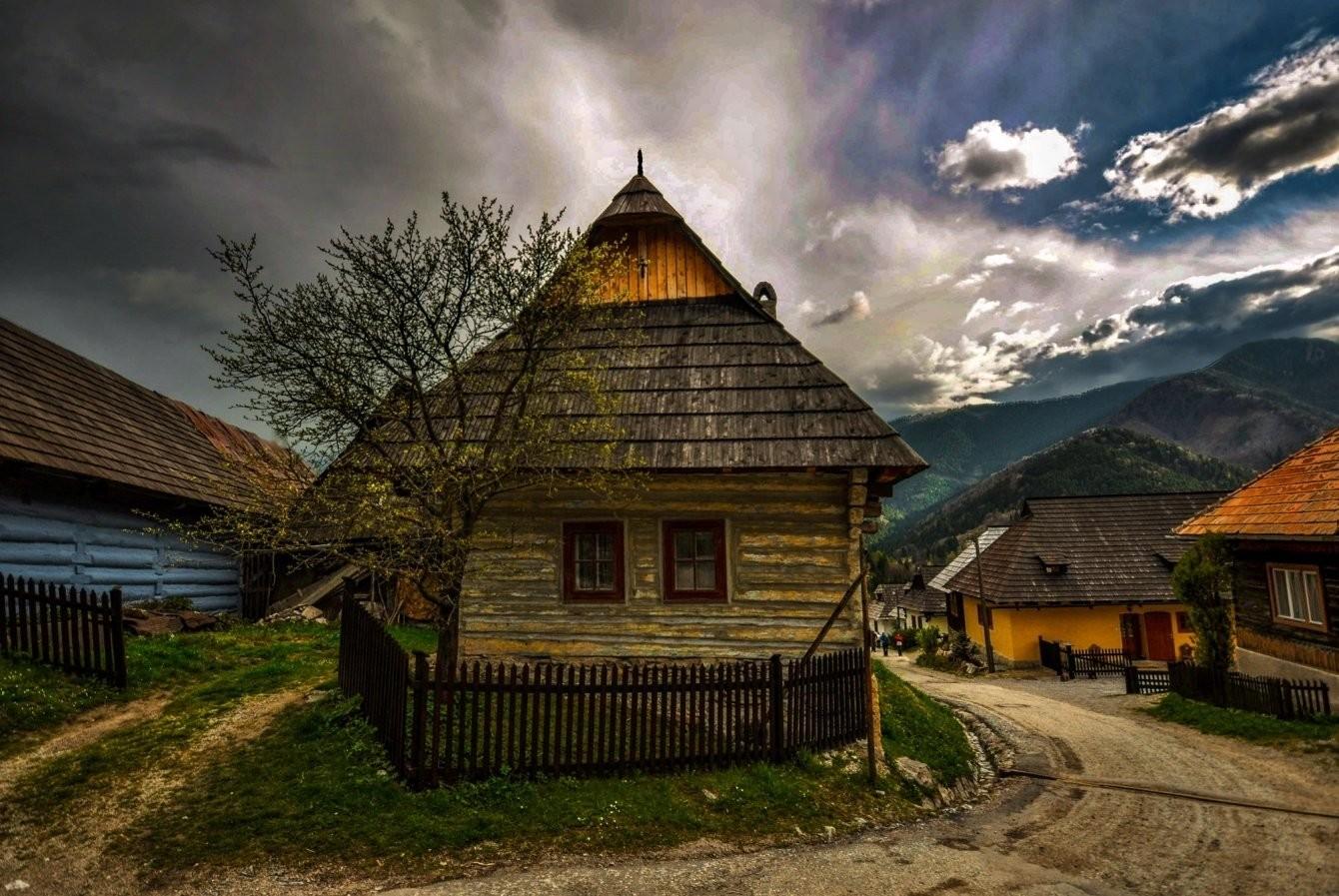 Abitazione rurale in Slovacchia