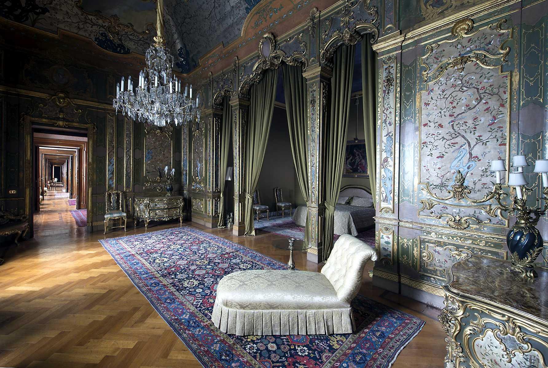 Camera da letto del Quirinale