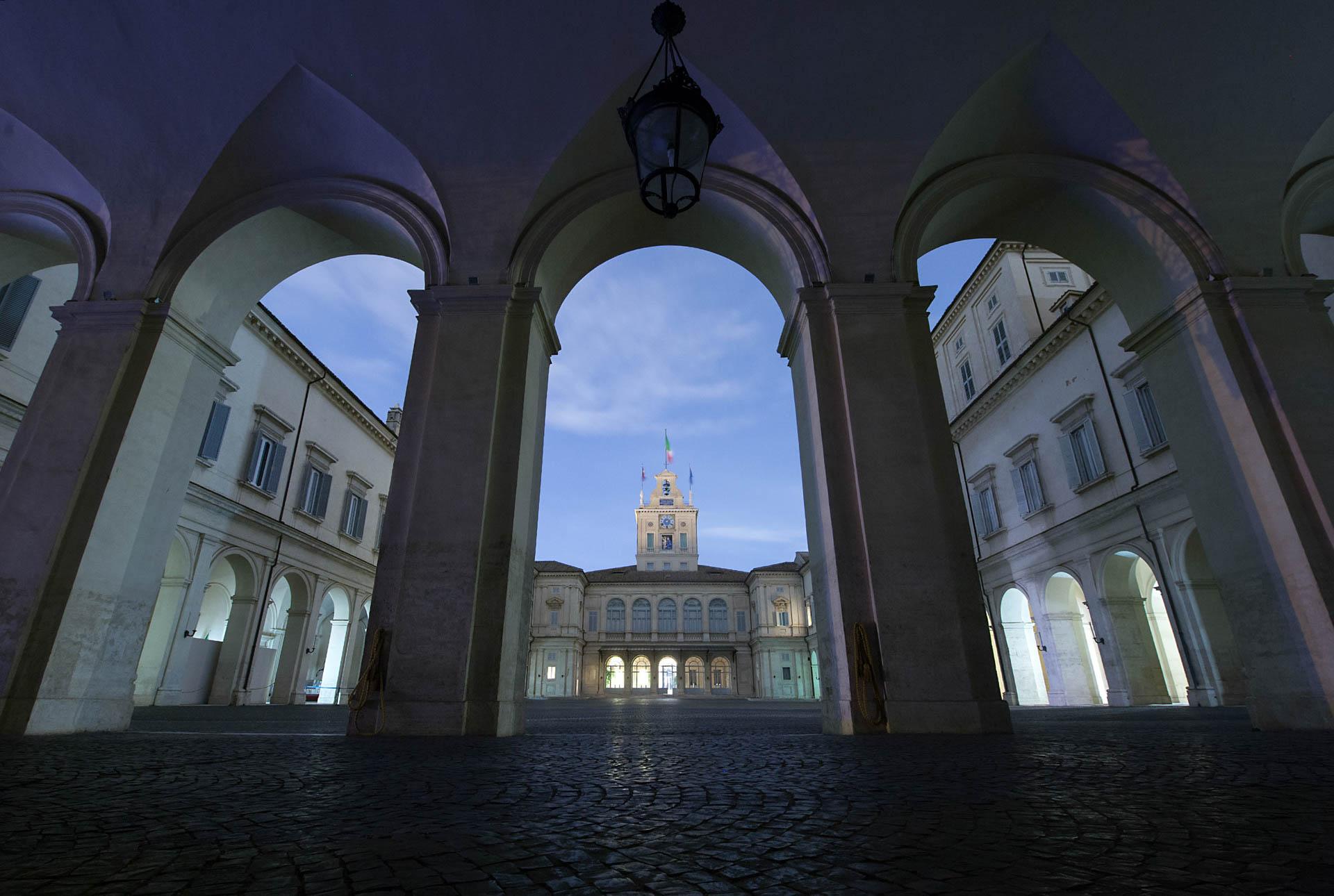 Cortile d'onore del Quirinale, Roma