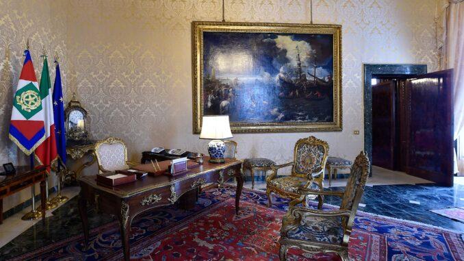 Studio del Presidente della Repubblica, Quirinale