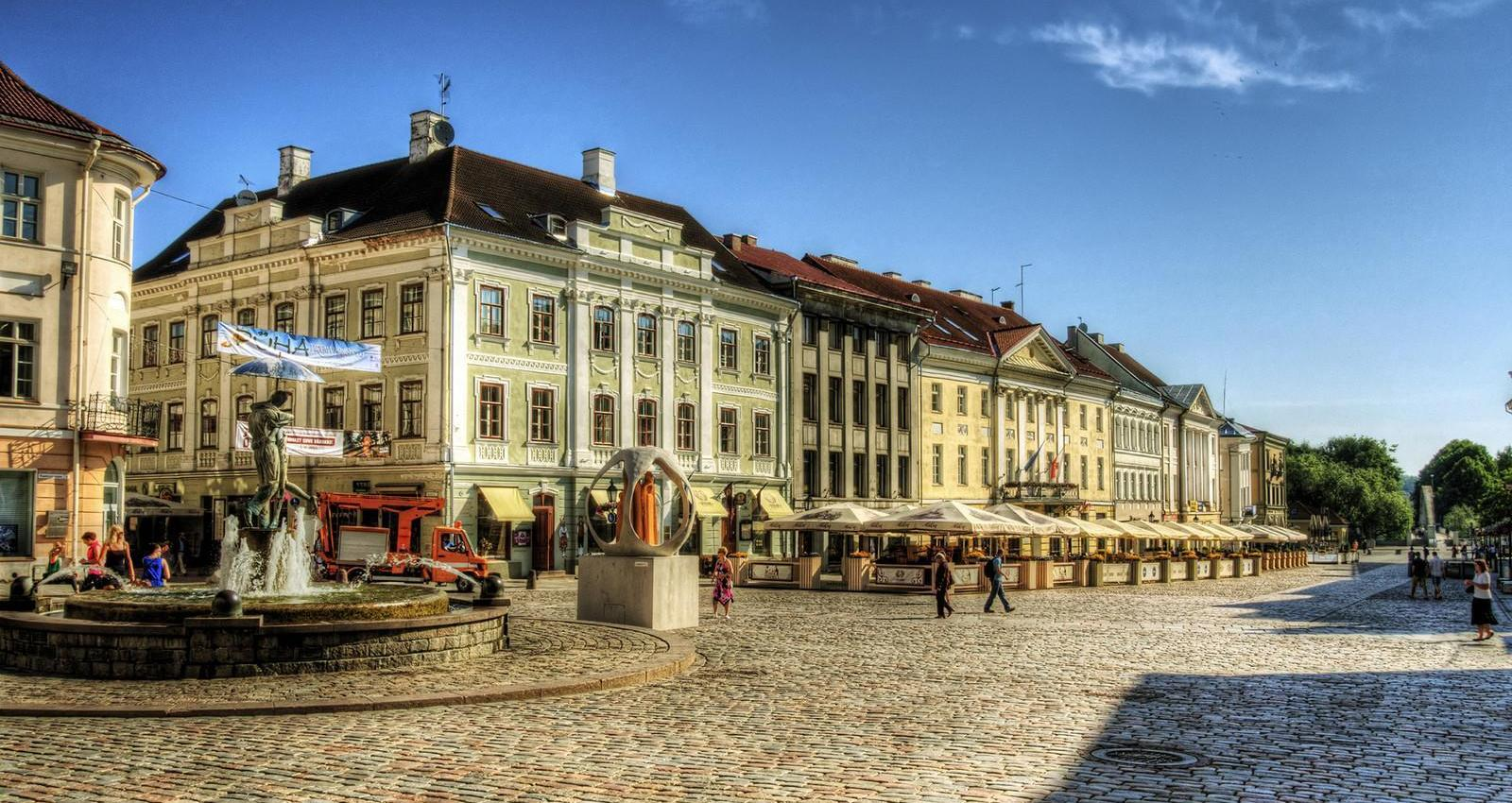 Tartu, città Estonia