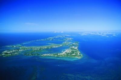 Veduta delle Bermuda dall'alto ©Bermuda Tourism