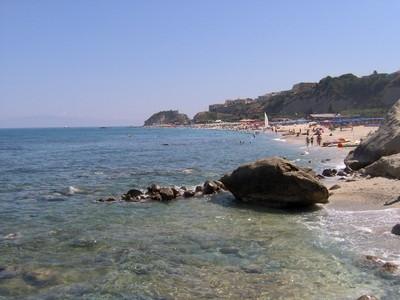 Una spiaggia di Tropea