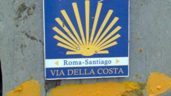 Simbolo della Via della Costa