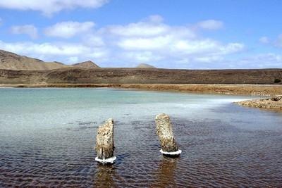 Suggestivo paesaggio di Capo Verde