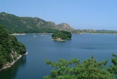 Lago Samilpo, Corea del Nord