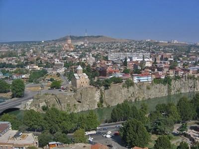 Veduta di Tbilisi, la capitale della Georgia ©Visitgeorgia.it