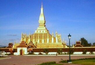 Il tempio That Louang a Vientiane, Laos ©Siren-Com Wikitravel