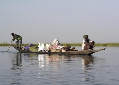 Pescatori sul fiume Niger nel Mali ©Foto Jon Ward Creative Commons Attribution ShareAlike 2.5