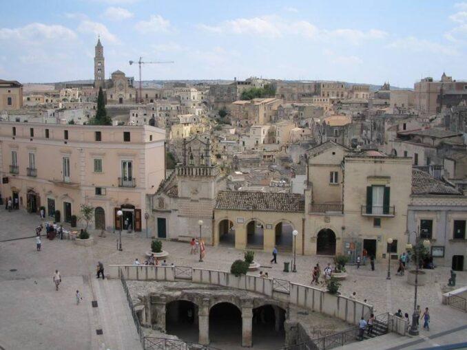 Matera, Piazza Vittorio Veneto ©Foto Anna Bruno/FullTravel.it