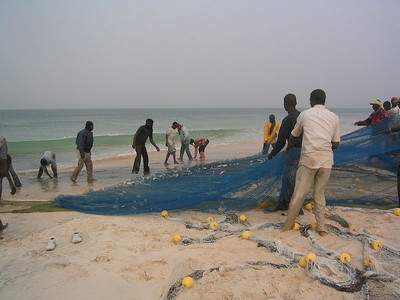 Pescatori in Mauritania