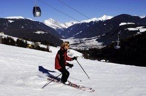 Sci e neve al Plan de Corones ©Foto Udo Bernhart