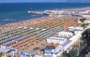 Spiaggia di Riccione ©Publy Web Promotion