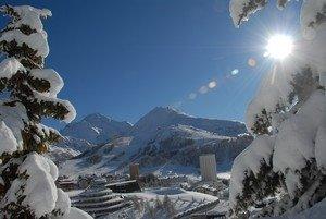 Neve a Sestriere ©Turismo Torino e Provincia