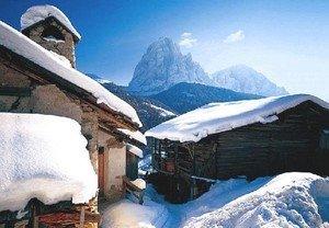 Masi innevati in Val Gardena ©Foto Tappeiner