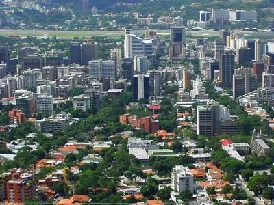 Vista di una parte della città Caracas, Venezuela ©Foto Kinori