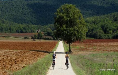 Via Francigena bike San Gimignano - Foto© sloWays.eu