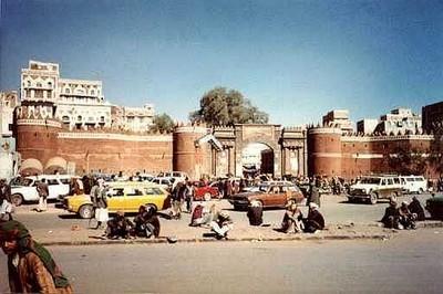 Città vecchia di San'a in una foto del 1980 ©Wilhelm von Schreeb