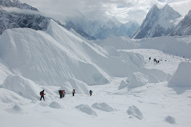 Concordia K2 Trek, Going - Foto© Maria Ly via Flickr