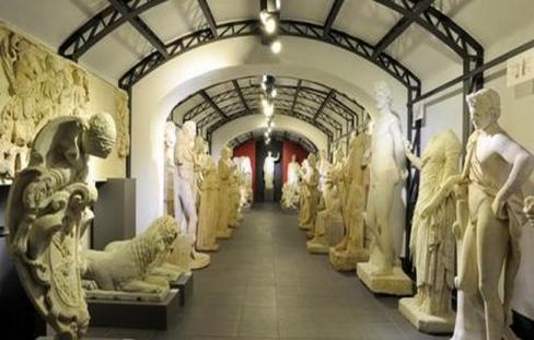 Deposito delle Sculture, Villa Borghese - foto Museo Canonica