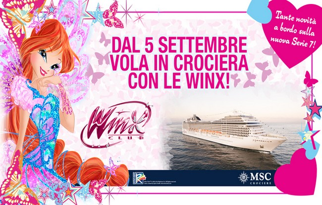 Msc Crociere Winx