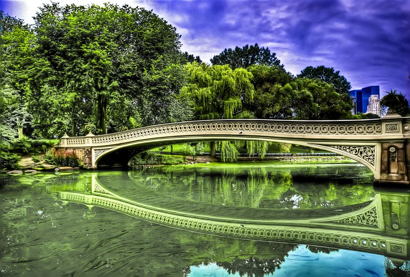Bow Bridge, Central Park - ph Francisco Diez via Wikipedia