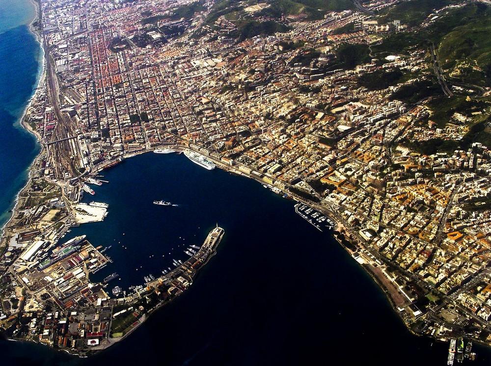 Messina vista dall'alto ©Stefano Barillà