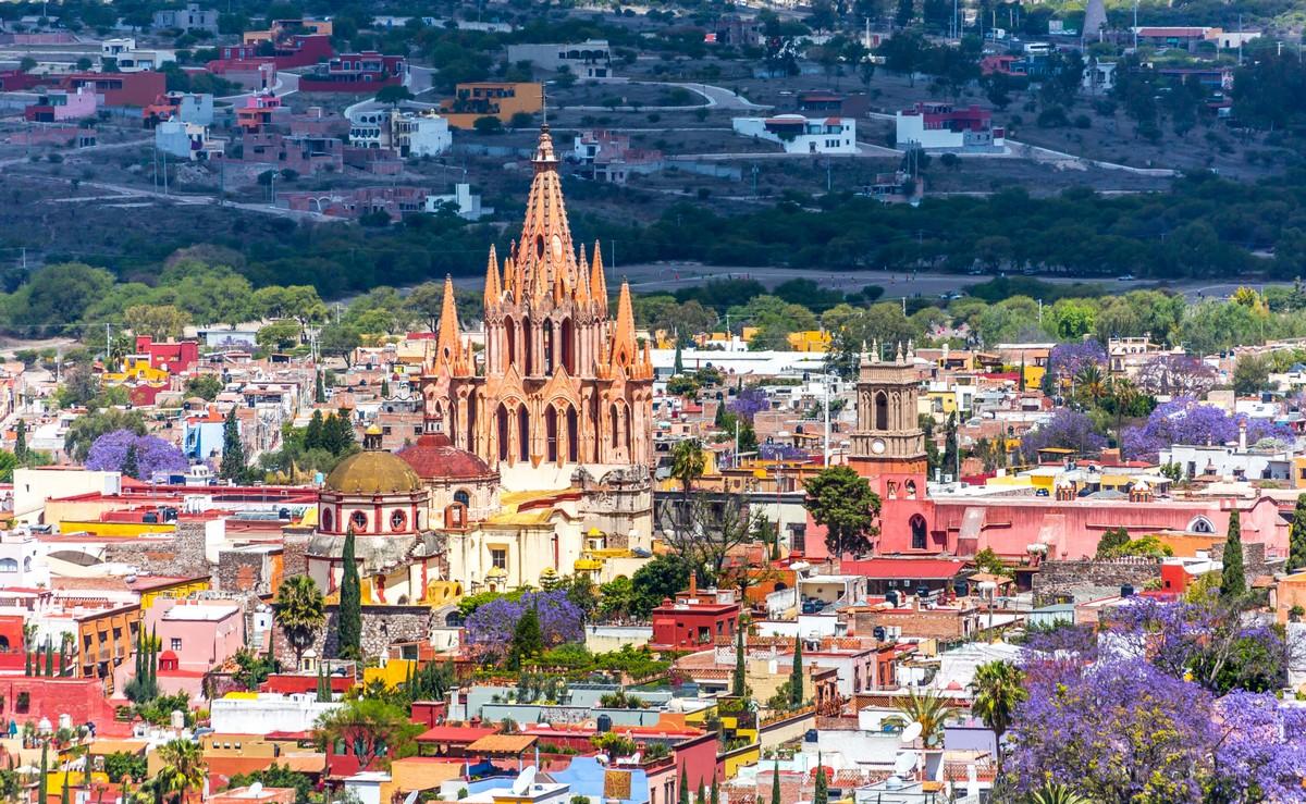 Panorama di San Miguel de Allende, Messico