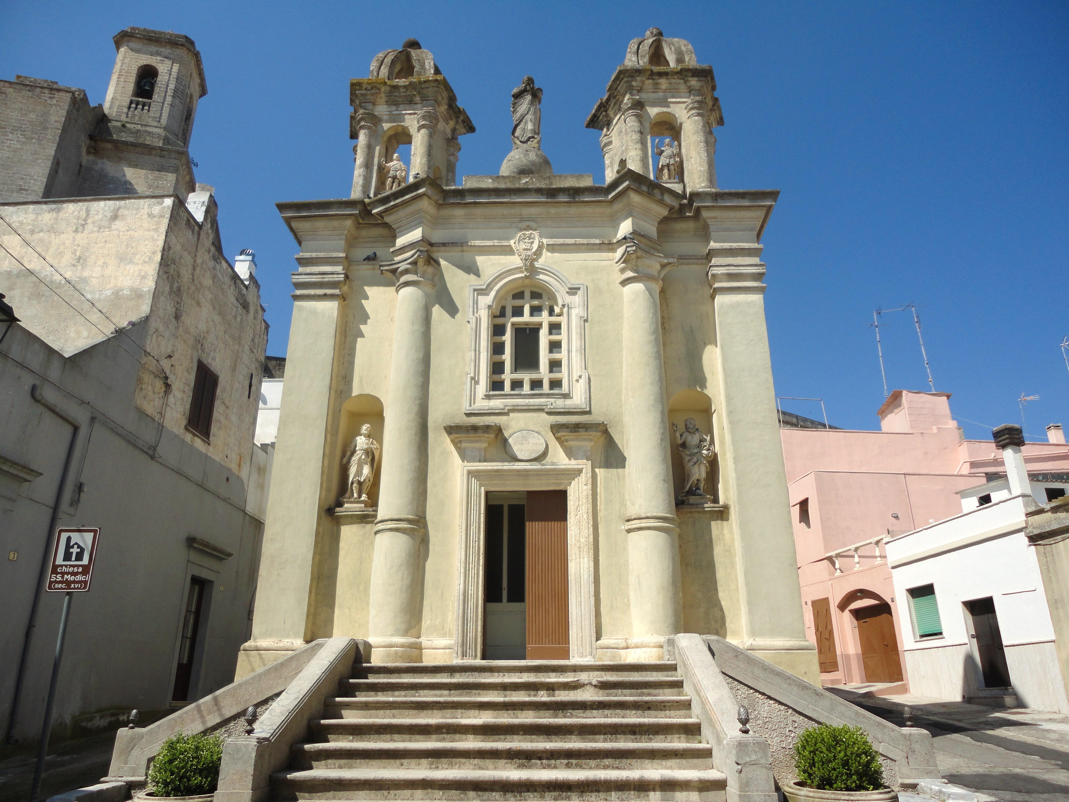 Santuario Santi Medici, Ugento -Foto Wikimedia