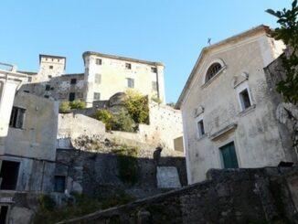 Balestrino, ruderi chiesa Sant'Andrea -Foto Davide Papalini