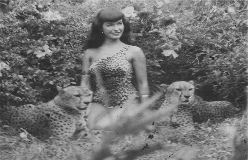 Bettie Page © Michael Fornitz Collection