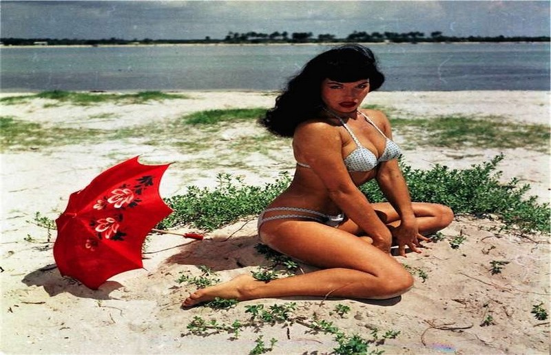 ©Bunny Yeager, 1954 Bettie Page, Michael Fornitz Collection
