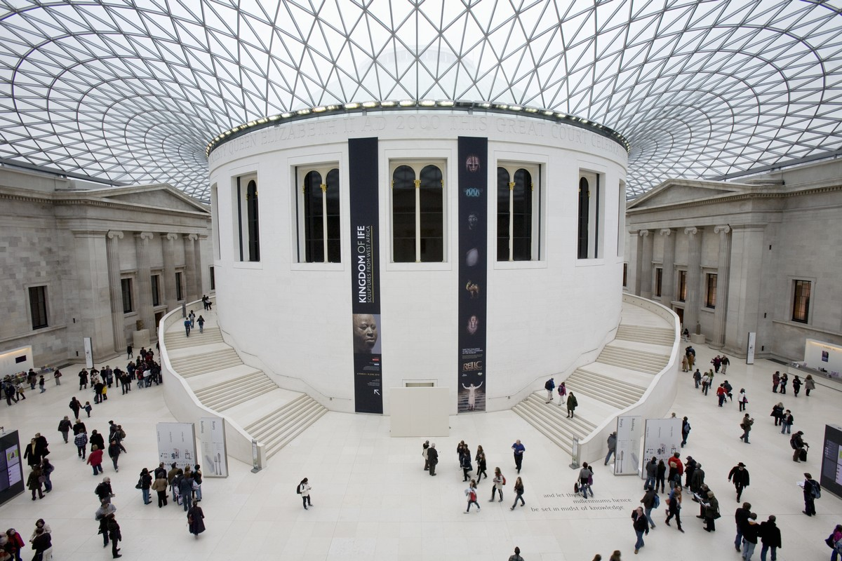 British Museum Great Court ©VisitBritain