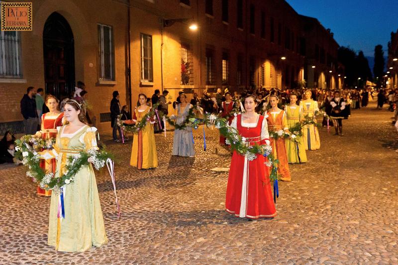 Corteo Storico Palio delle Contrade, Ferrara - Foto Geppy Toglia ©'Ente Palio di Ferrara