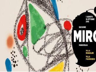"""Mostra """"Miró Meraviglie"""" a Riccione"""