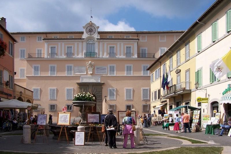 Dimora papale di Castel Gandolfo - ph Berthold Werner