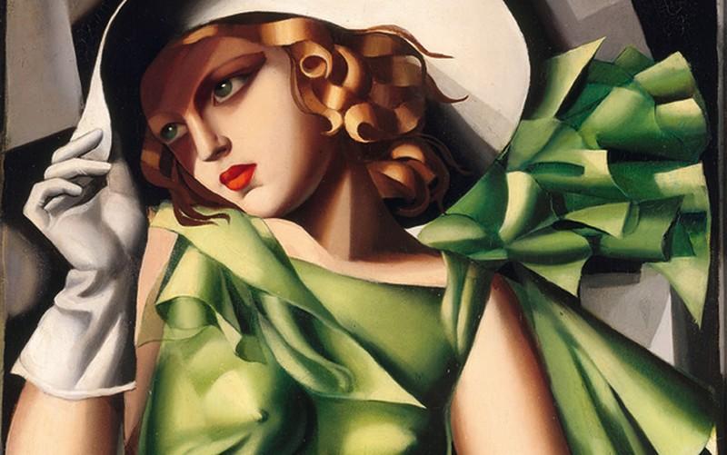 Jeune fille en vert - Tamara de Lempicka