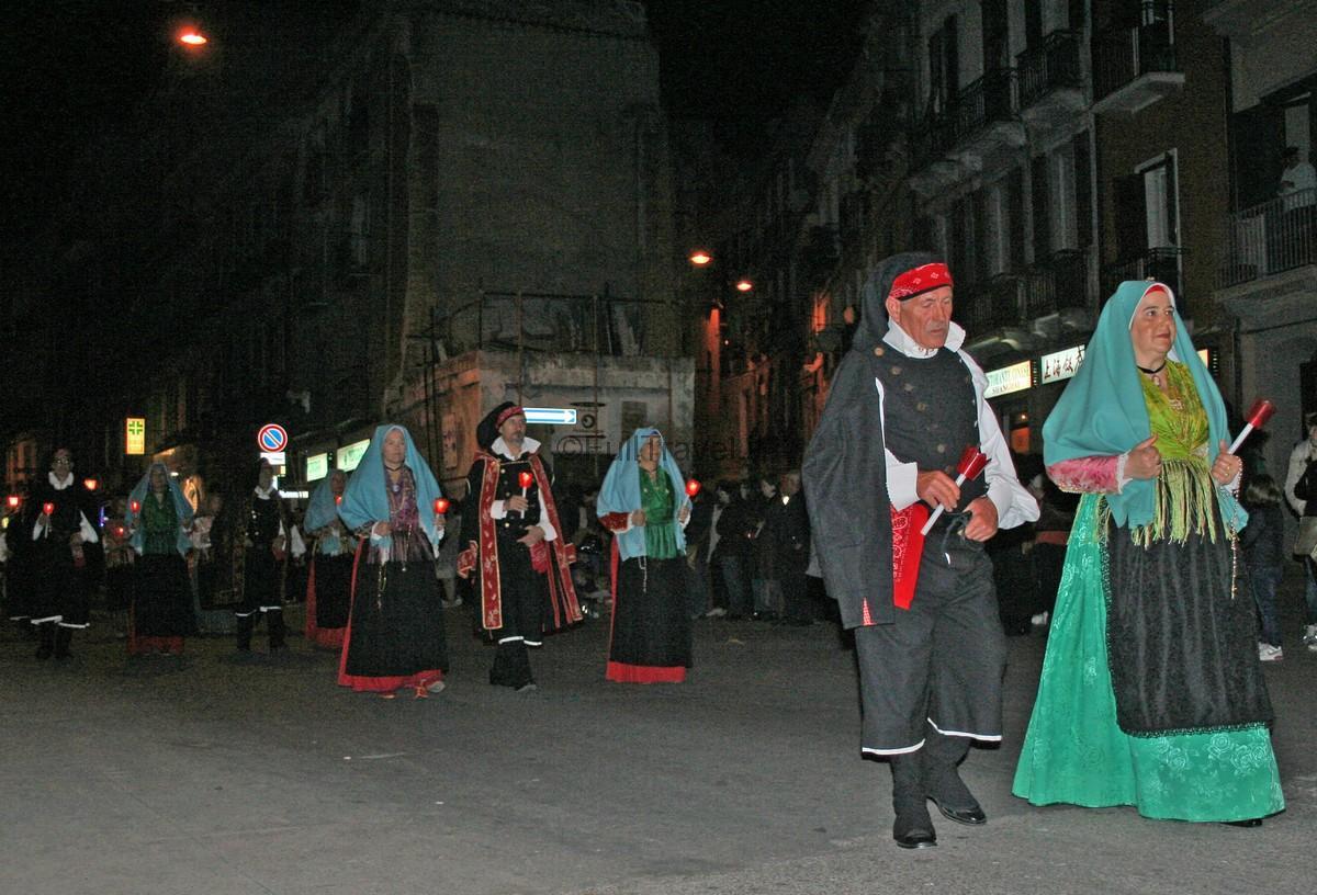 Processione di ritorno di Sant'Efisio, Cagliari ©Foto Anna Bruno