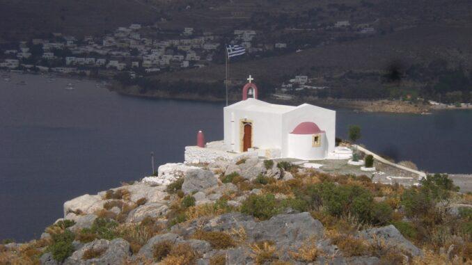 Chiesetta sull'isola di Kos, Grecia