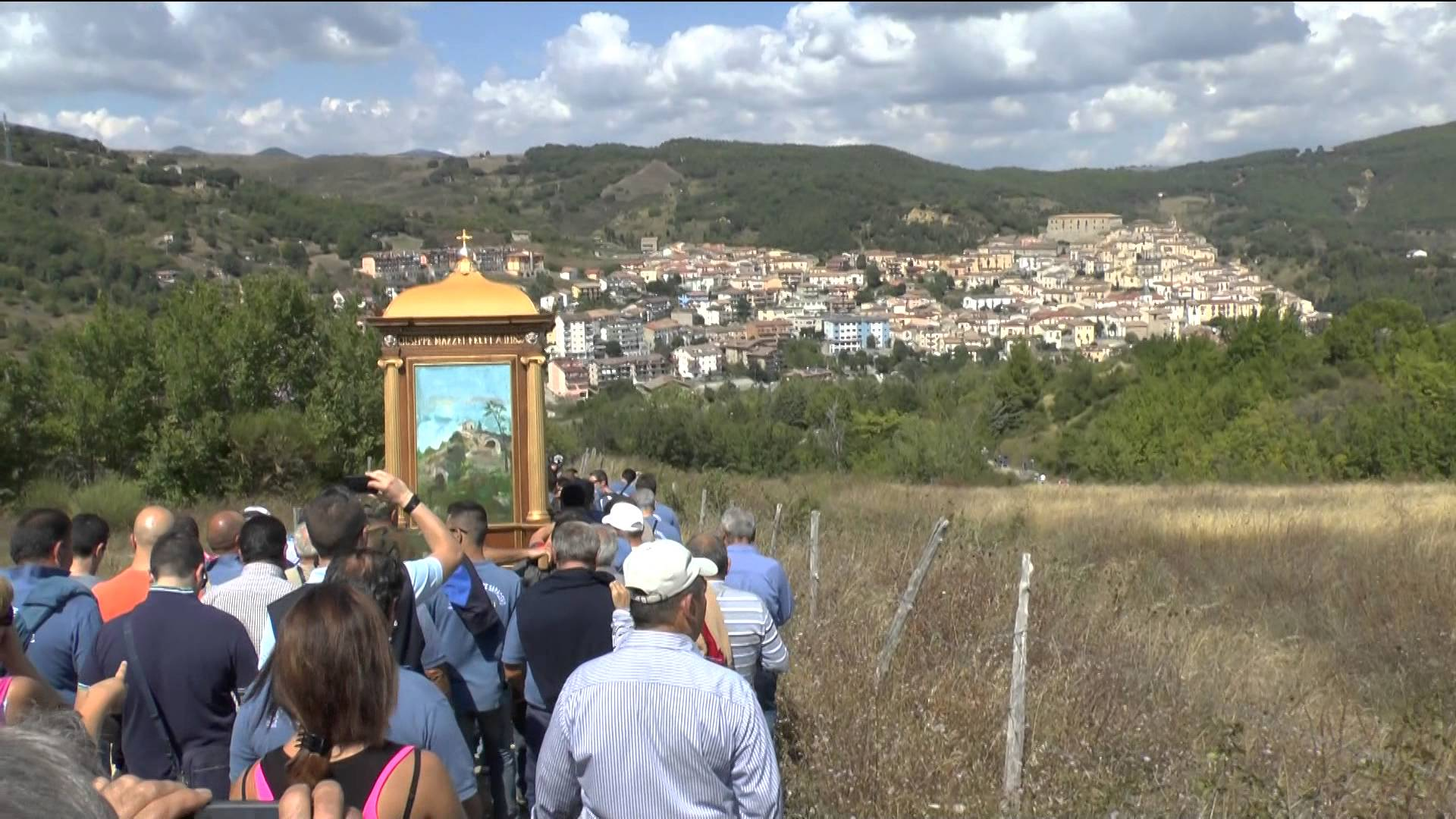 Madonna Monte Saraceno, Calvello - Potenza