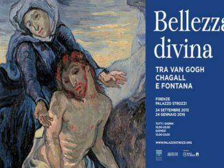 """Mostra """"Bellezza divina tra Van Gogh, Chagall e Fontana"""""""