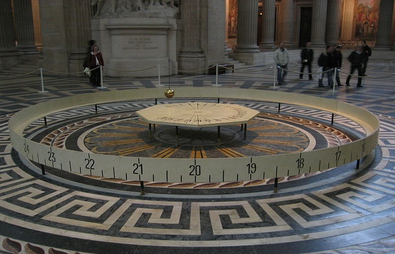 Pendolo di Foucault - ph Arnaud 25 via Wikipedia