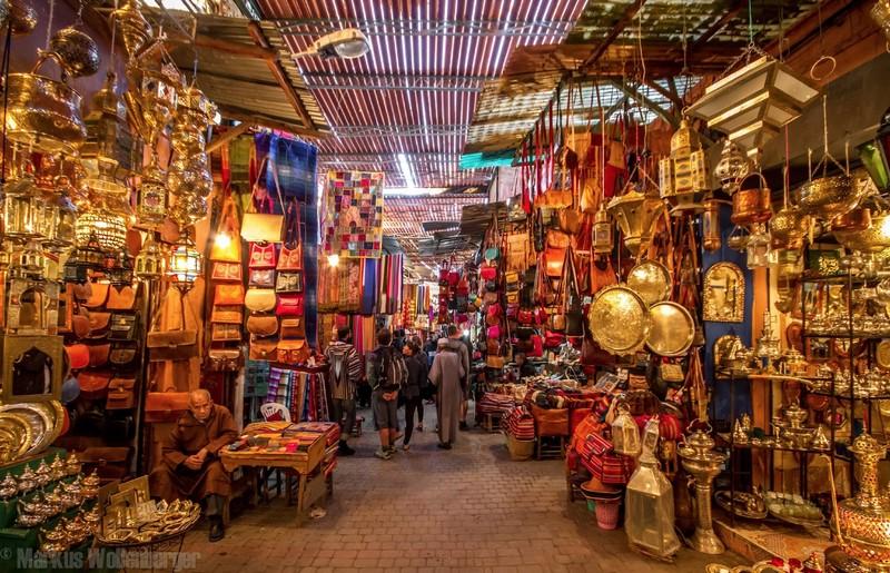 Il Souk di Marrakech