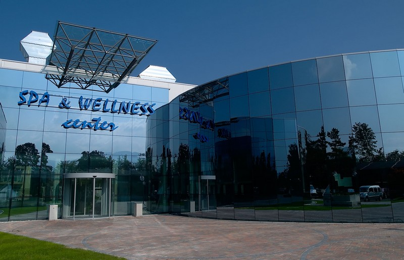 Terme Catez, il Centro Wellness